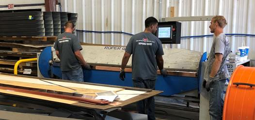 Men in workshop