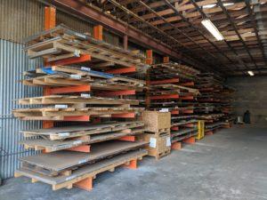 Stacks of material