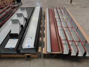 Various roofing materials