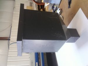 A metal roofing part