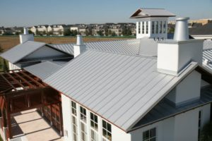 standing seam on roof in orlando